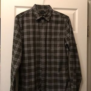 Banana Republic Luxe Flannel shirt size M